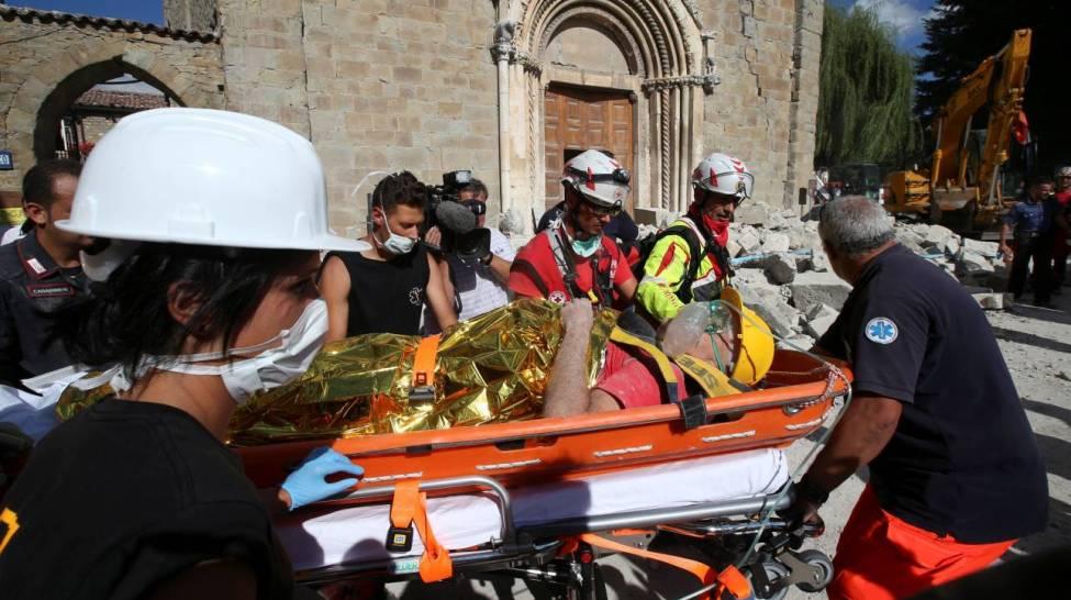 Σεισμός Ιταλία: εικόνες «αποκάλυψης» - δεκάδες νεκροί