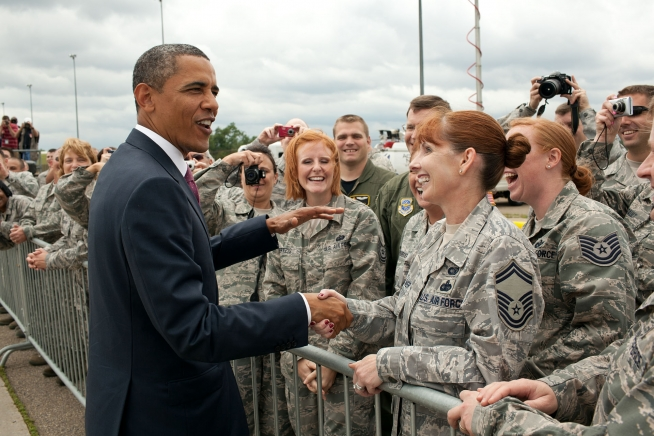 Image result for photos of president obama with military