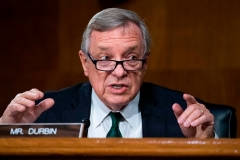 Sen. Dick Durbin (D-Ill.) (Photo by TOM WILLIAMS/POOL/AFP via Getty Images)