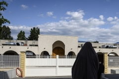 A young woman at a Muslim school in eastern France. (Photo by Jean-Philippe Ksiazek/AFP/Getty Images)