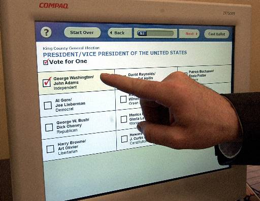 Image result for voting machine voters