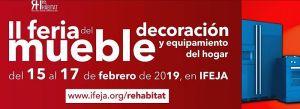 Ángel Vera, decoración, Feria del Mueble de Jaén, Ferias Jaén, Interiorismo, jardinería, menaje, muebles, Rehábitat, textil para el hogar