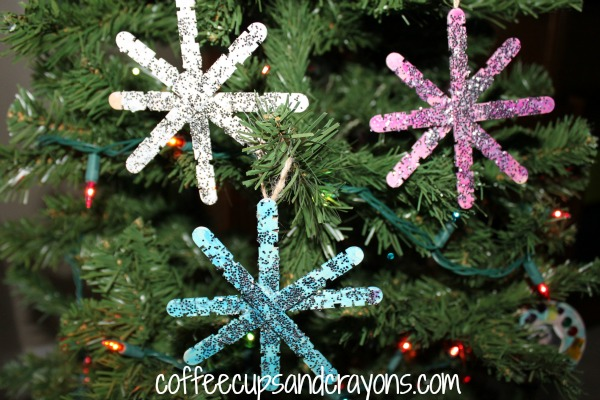 how to make big snowflake decorations