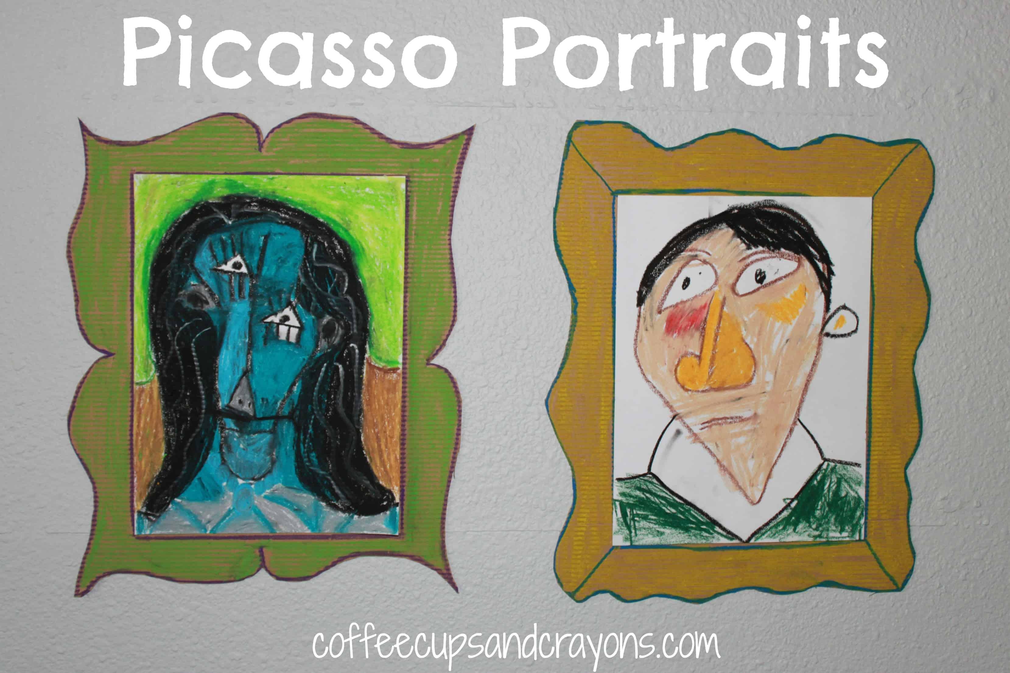 Picasso For Kids Cubist Portraits