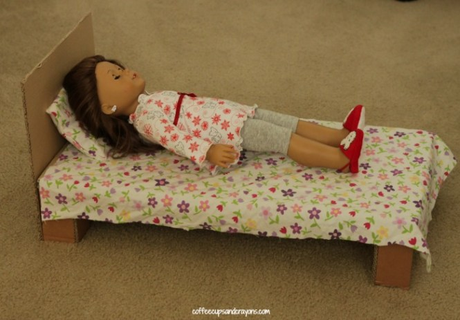 Make Your Own American Doll Bed