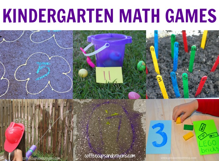 Kindergarten Active Math Games   Coffee Cups and Crayons FUN and Active Kindergarten Math Games