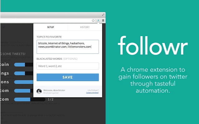 Followr Extension