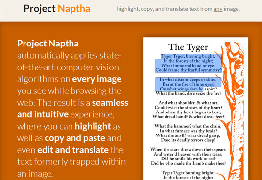 Project Naptha Extension