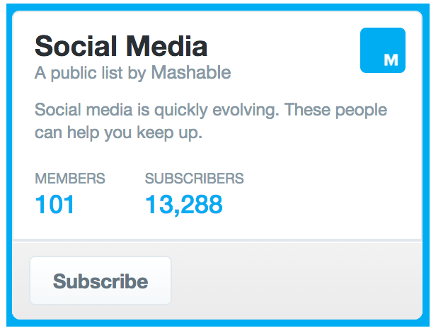 Join Niched Twitter Lists to Spread Your Message to a Targeted Audience