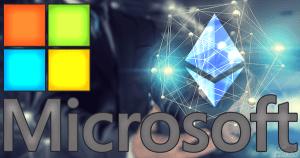 マイクロソフト:「Ethereum on Azure」開発の進展を発表
