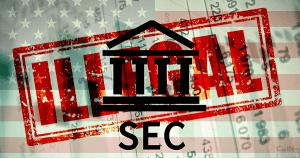 米証券取引委員会(SEC)公式声明:未登録の仮想通貨取引所は違法状態