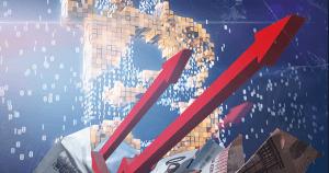 【速報】仮想通貨ビットコインの価格、70万5000円の「フィボナッチ62.8%」を超え急騰