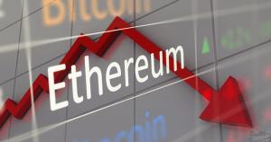 仮想通貨イーサリアム(ETH)、直近1年間での最安値を更新