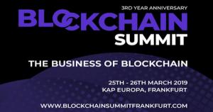 ヨーロッパの注目仮想通貨カンファレンス「Blockchain Summit Frankfurt」3月にFrankfurtで開催決定