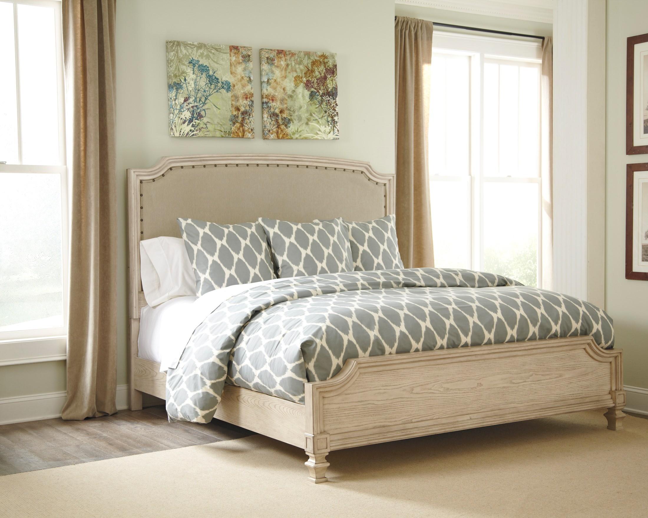 Demarlos Cal King Upholstered Panel Bed B693 76 78 94