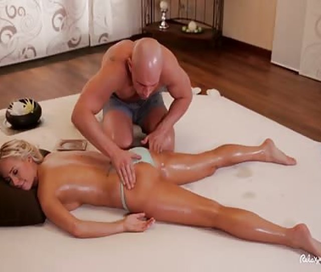 Carla Cox Satisfying Sex After Oily Massage