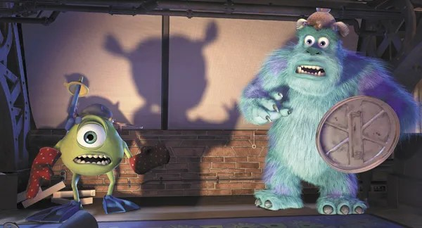 Image result for pixar monsters inc