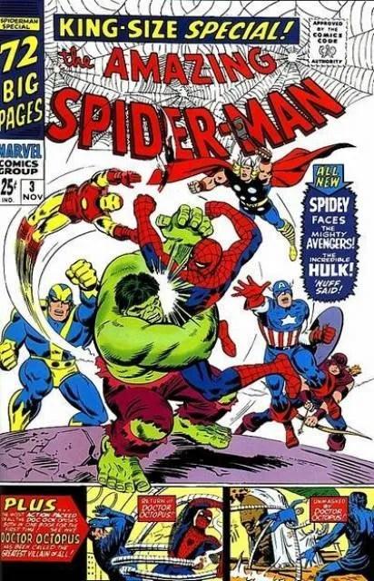 Capa de Amazing Spider-Man Annual #3 por John Romita.