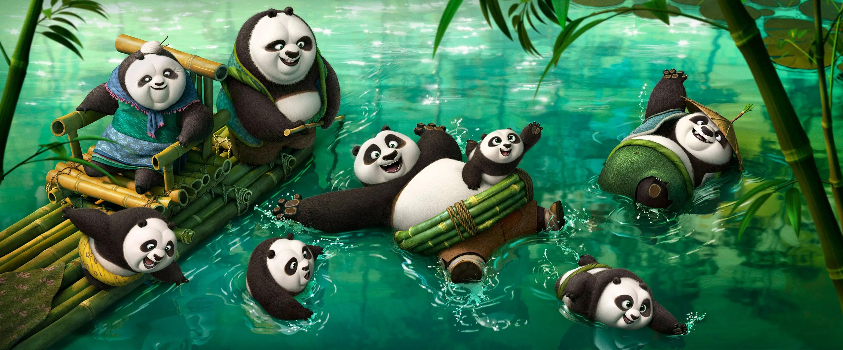 Kung Fu Panda 3 Trailer Featuring Jack Black As Po