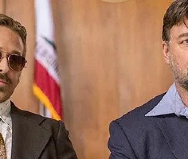 The Nice Guys Ryan Gosling Russell Crowe