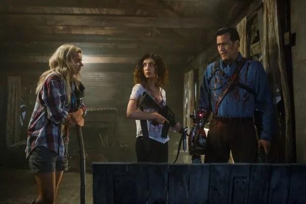 Ash Vs Evil Dead Craig Digregorio On Season 2 Sam Raimi