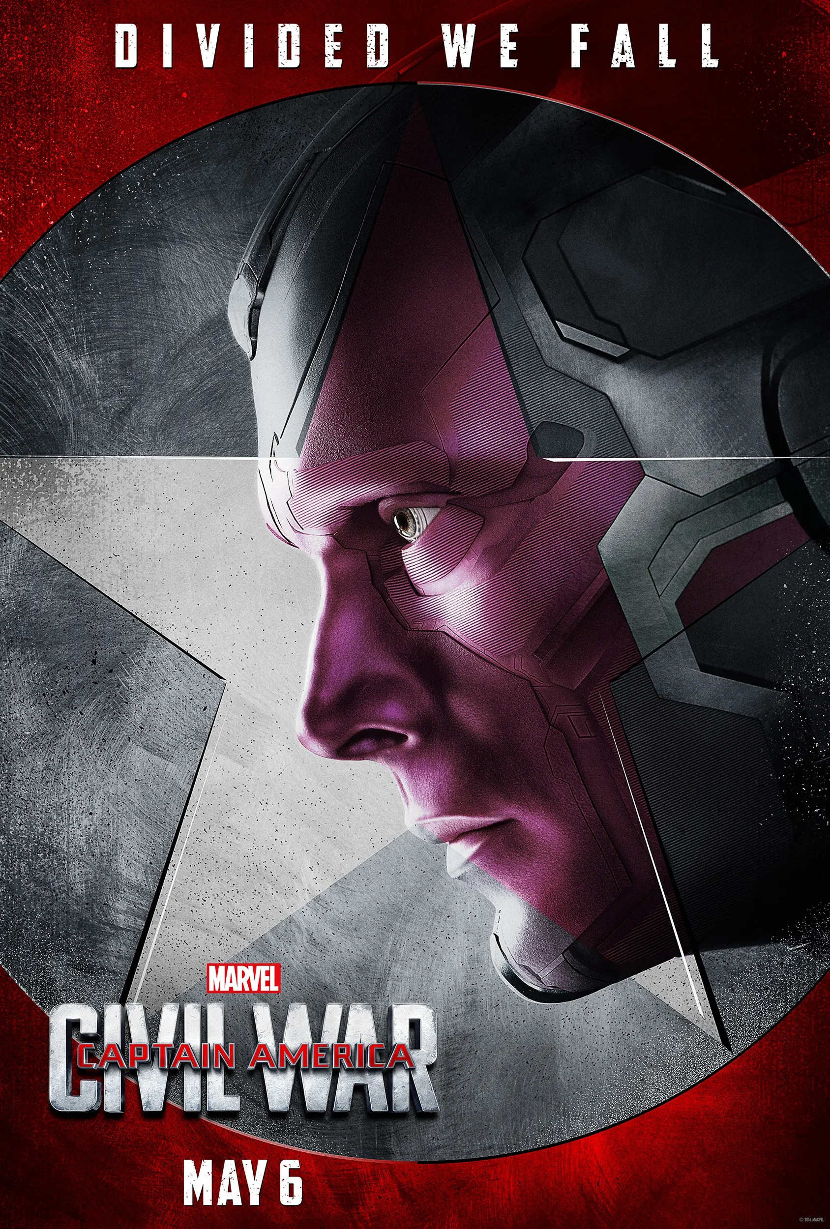 Image result for Captain America: Civil War vision poster