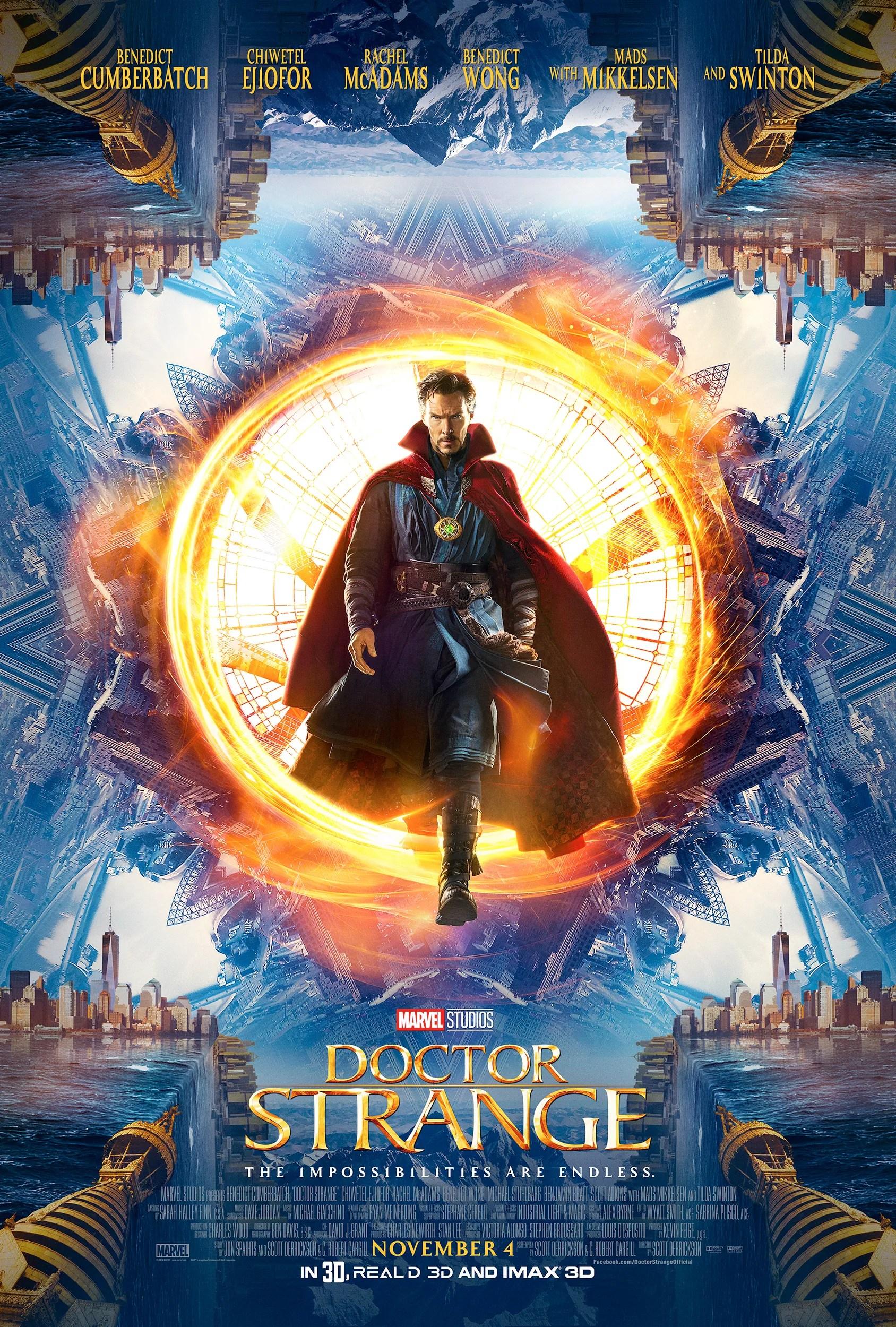 Image result for Doctor Strange MCU poster