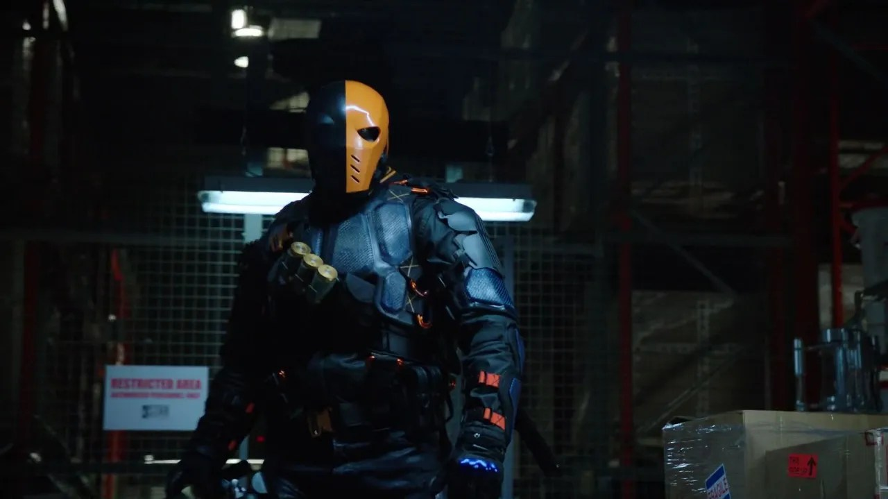 Image result for deathstroke arrow