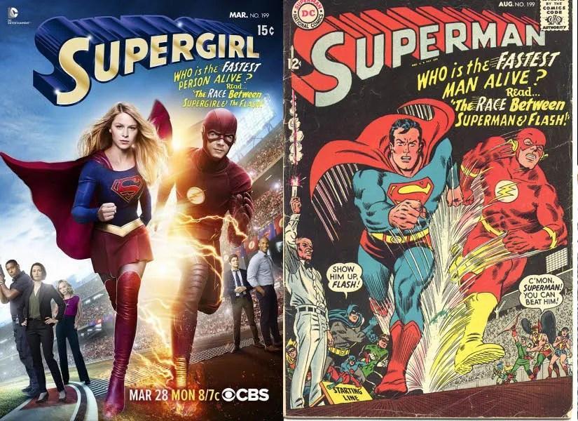 Image result for Supergirlbook vs netflix