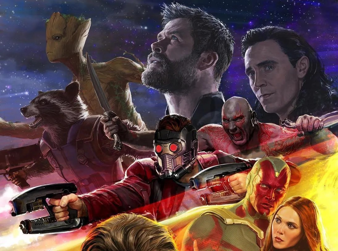 'Avengers: Infinity War' Poster Attempts to Contain the ...