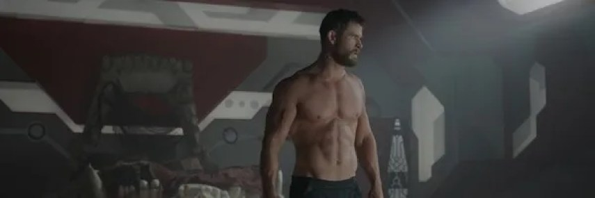 Image result for thor ragnarok thor shirtless