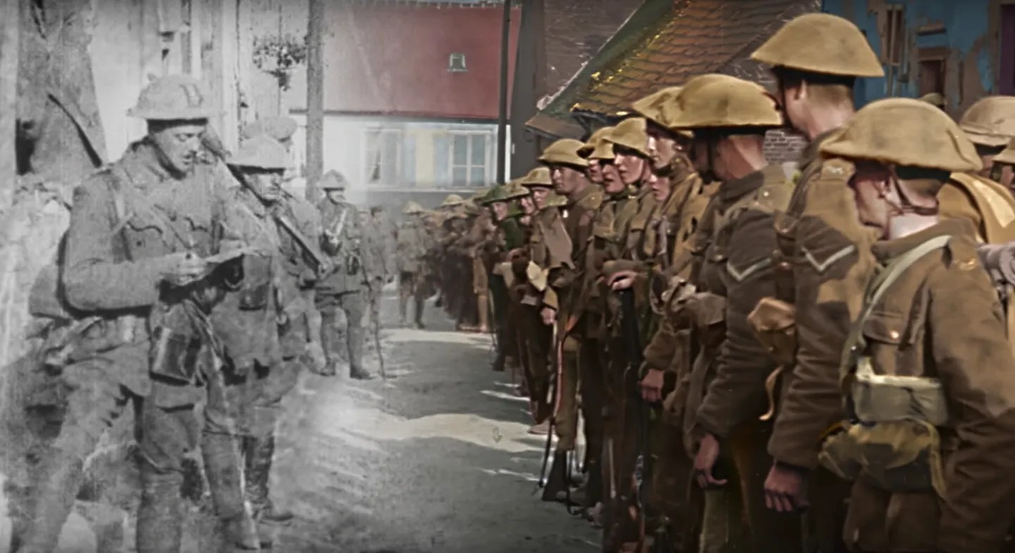 Image result for they shall not grow old poster