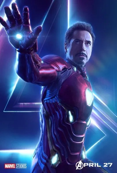 Infinity War Posters With Iron Man Captain America