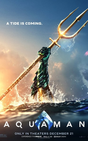 Image result for aquaman poster