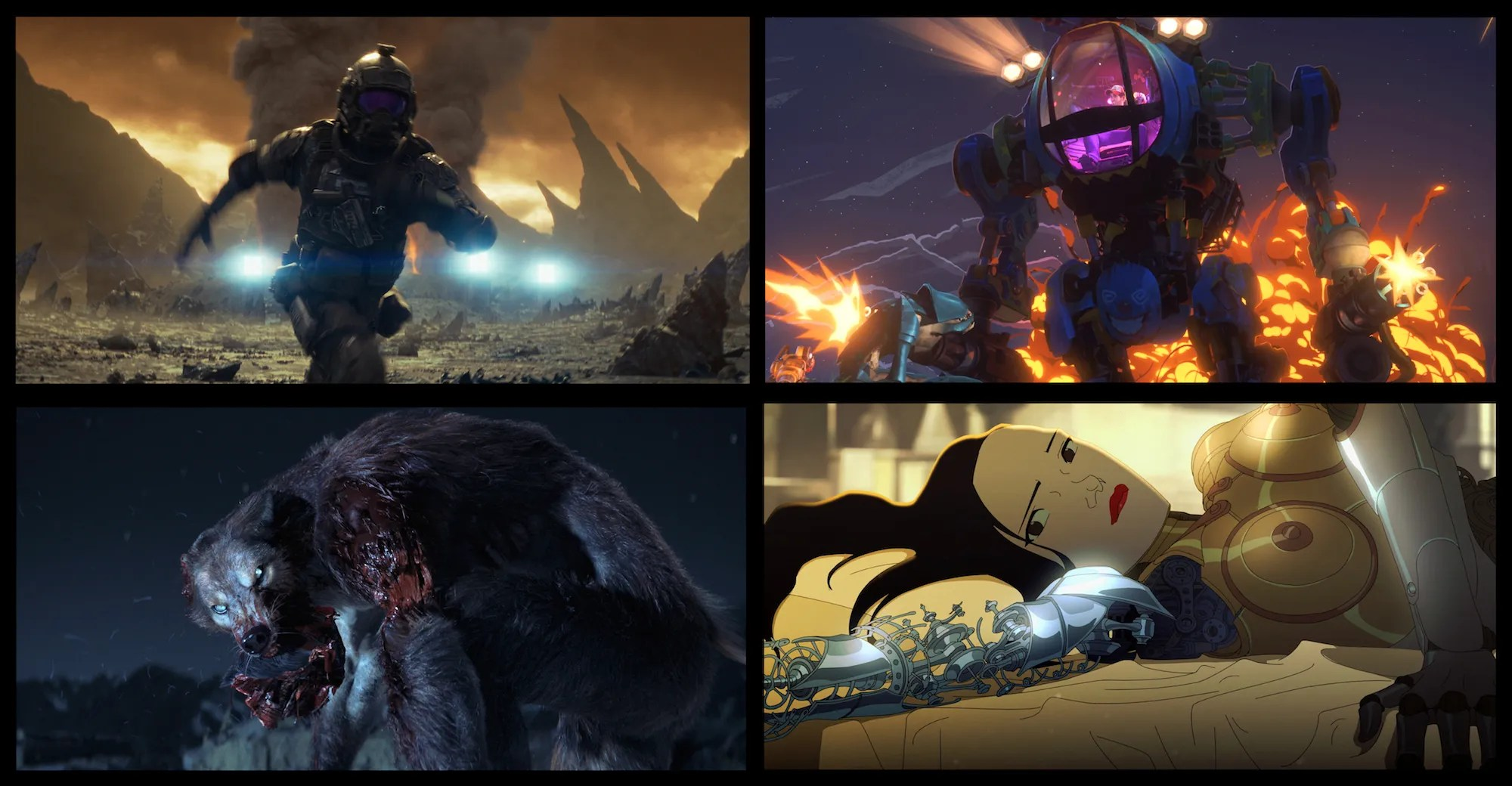 Image result for Love, Death and Robots