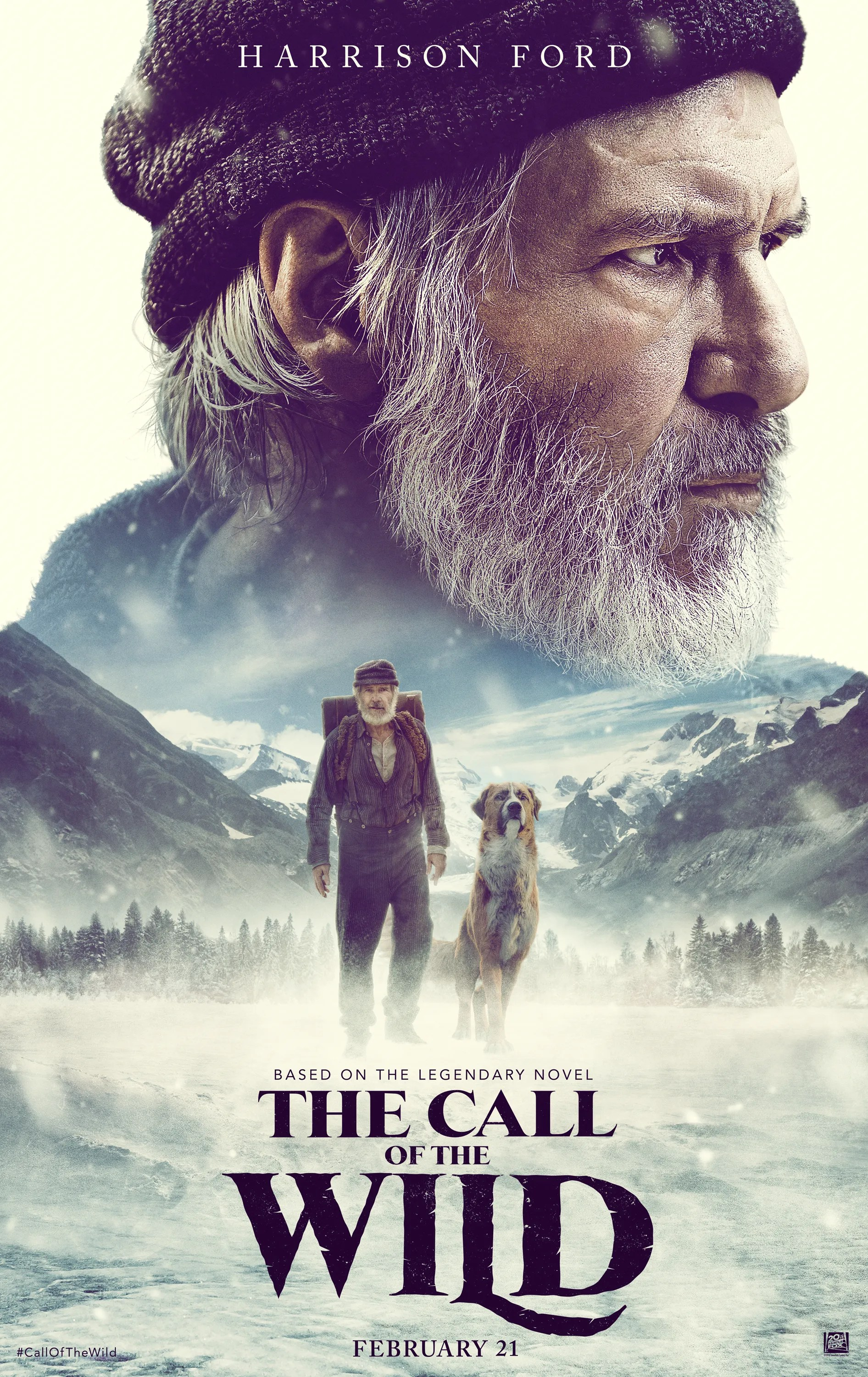 The Call Of The Wild Trailer Features Harrison Ford And A