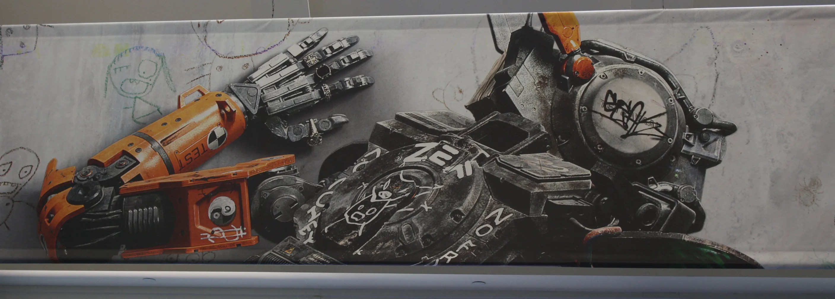 Chappie Poster Revealed At Comic Con Sci Fi Comedy Stars
