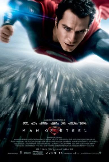Resultado de imagen para Superman: Man of Steel movie poster