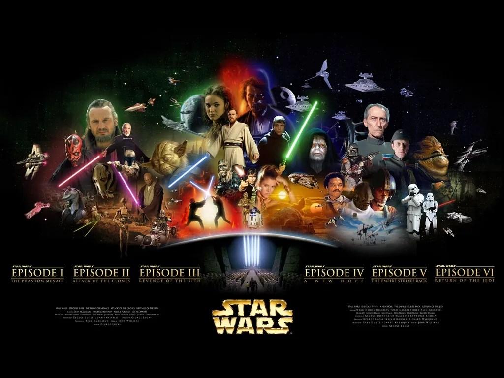 Image result for star wars episodes