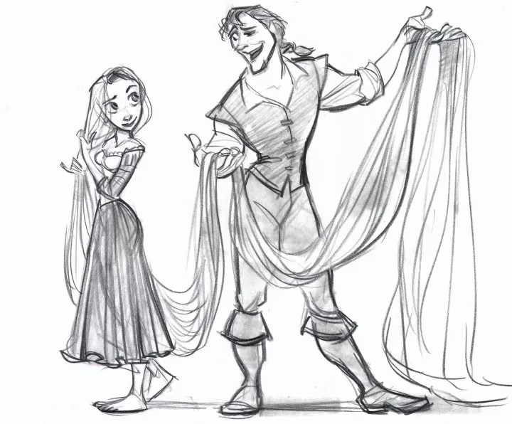 New Concept Art From Disney's TANGLED