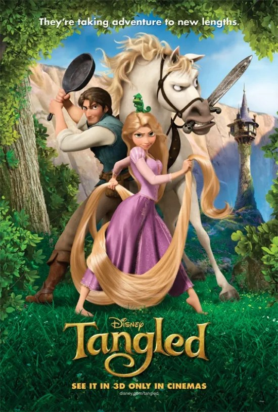 Image result for tangled disney movie poster