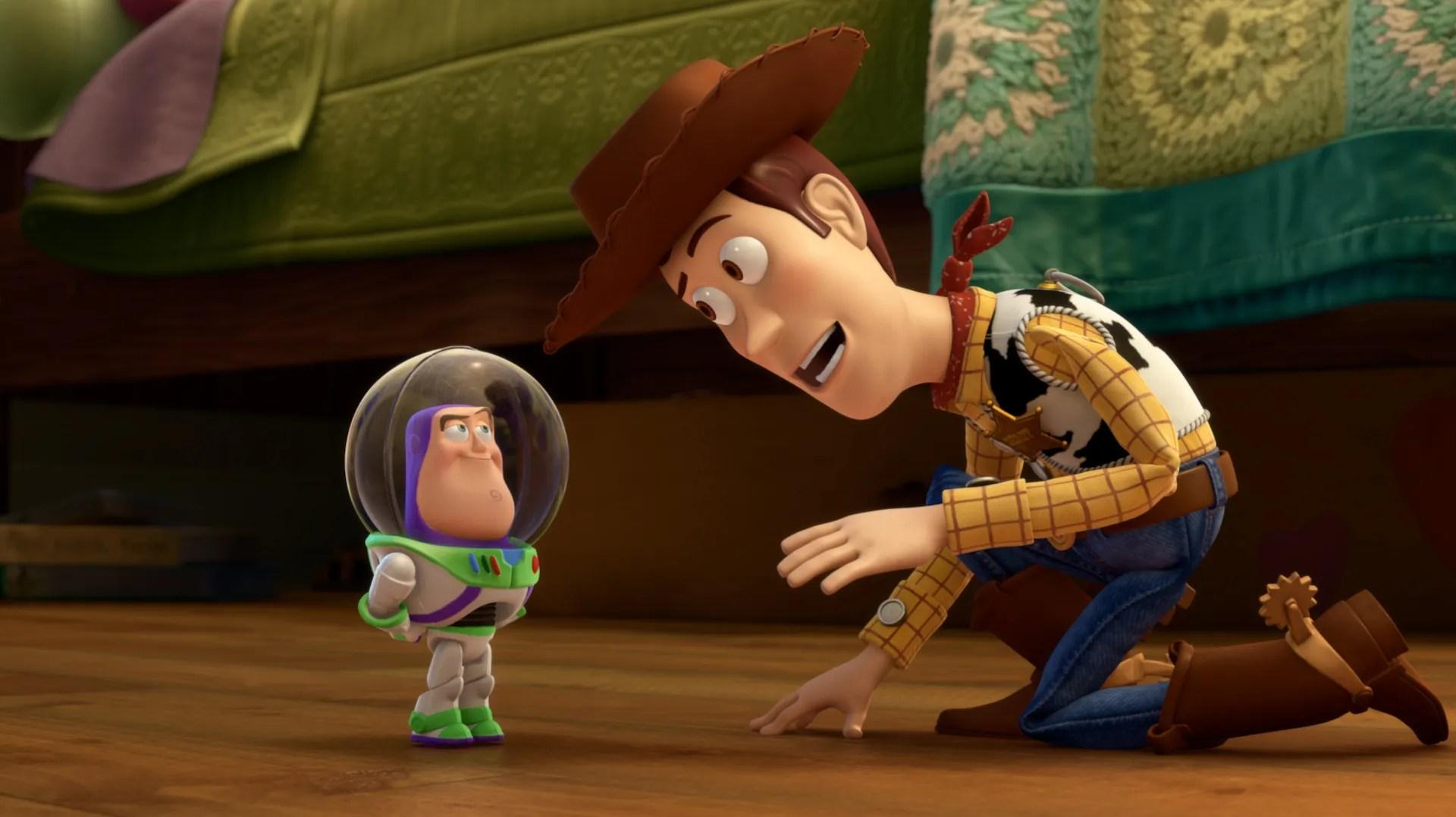 Toy Pixar 3 Story Robot