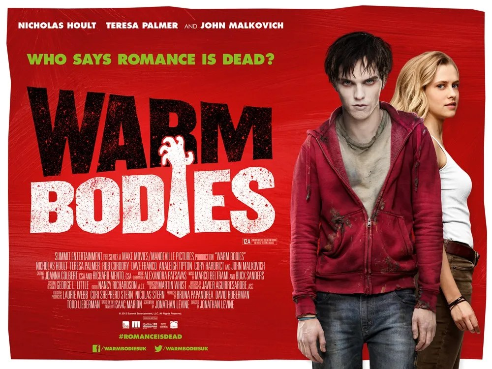 Image result for warm bodies poster