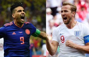Resultado de imagen para colombia vs inglaterra
