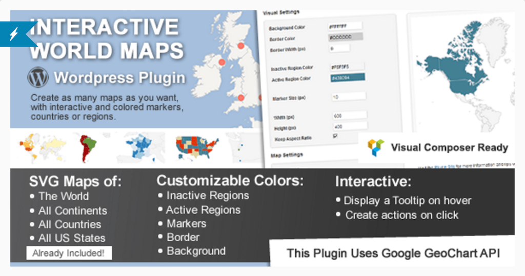 Mapas interactivos de WordPress