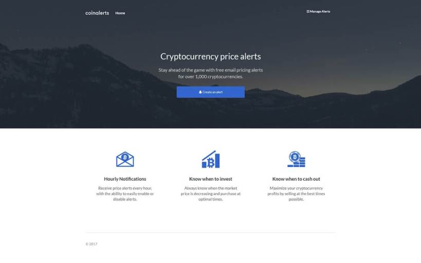 coinalerts cryptocurrency wordpress plugin