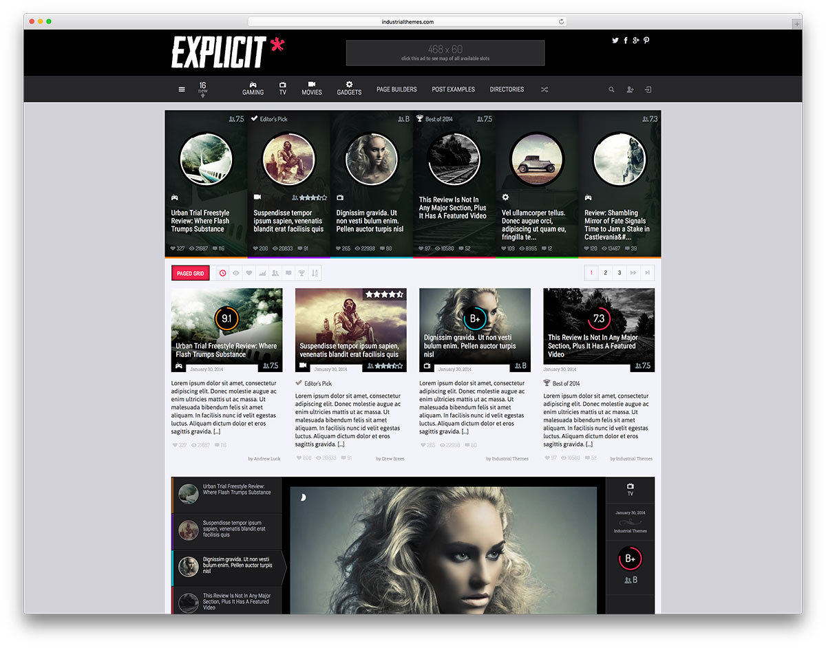 explicit-minimal-gamer-magazine-theme