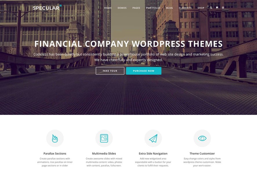20 Best Financial Company WordPress Themes 2018   colorlib 20 Best Financial Company WordPress Themes For Consulting And Financial  Services 2018