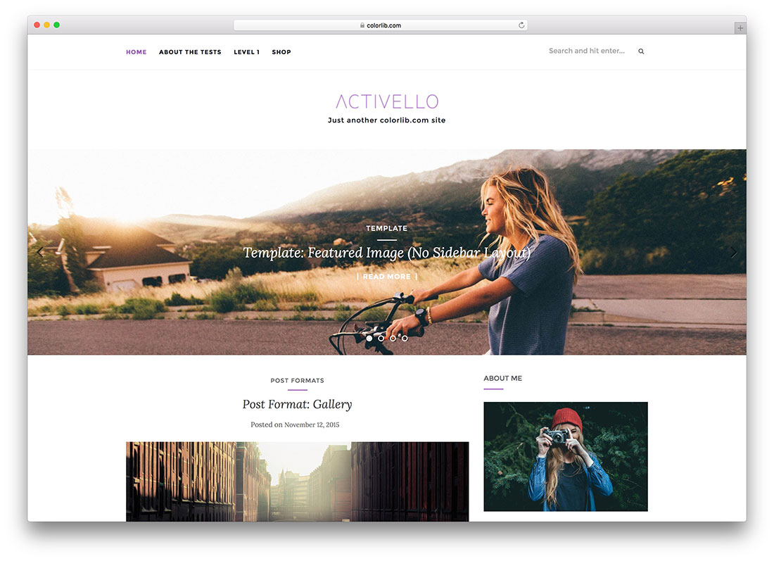 25 best free wordpress themes built with bootstrap framework for