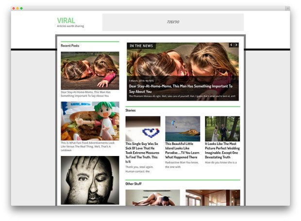 hotnews viral Premium WordPress Templates